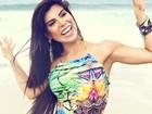 Priscila Rocha se prepara para final de concurso: 'Bumbum na nuca'