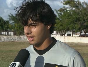 Sancler, Botafogo-PB (Foto: Reprodução / TV Cabo Branco)