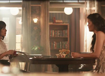'Tempo de Amar': Vicente surpreende Lucinda e Maria Vitória conversando