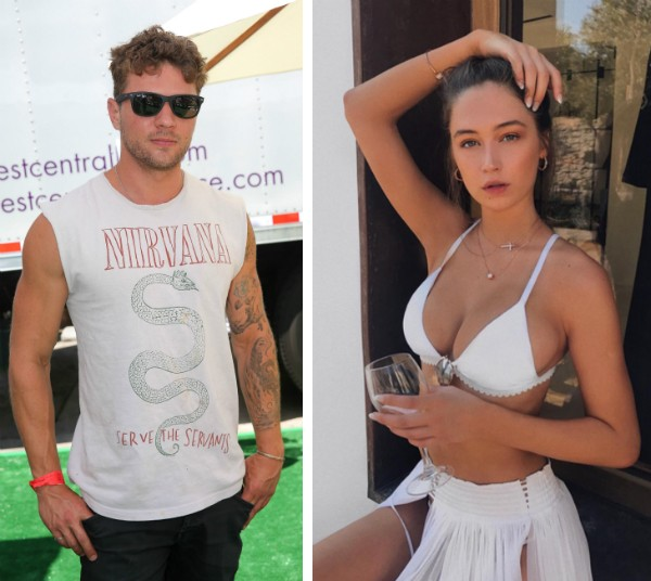 O ator Ryan Phillippe e a modelo Elsie Hewitt (Foto: Getty Images)