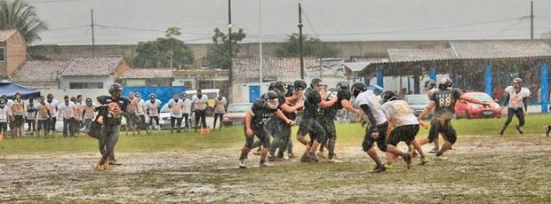 futebol, americano, ceará, fênix, treze (Foto: Luana Cavalcante/Ceará Fênix)