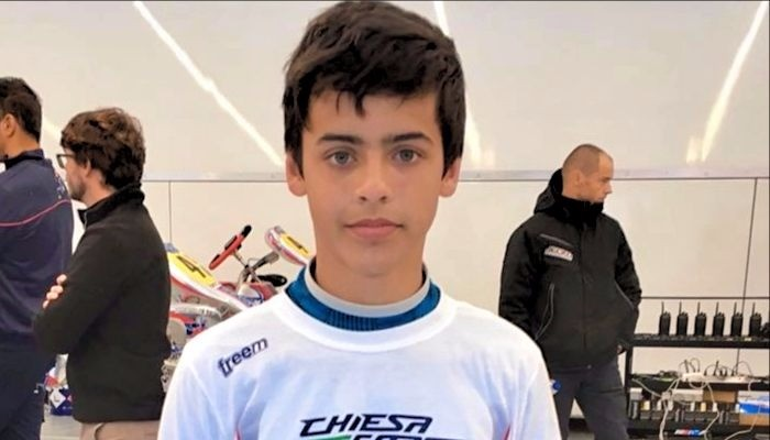 Roberto Faria no Mundial de Kart