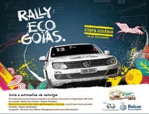 Rally Eco Goiás 2013 (Foto: Divulgação/TV Anhanguera)