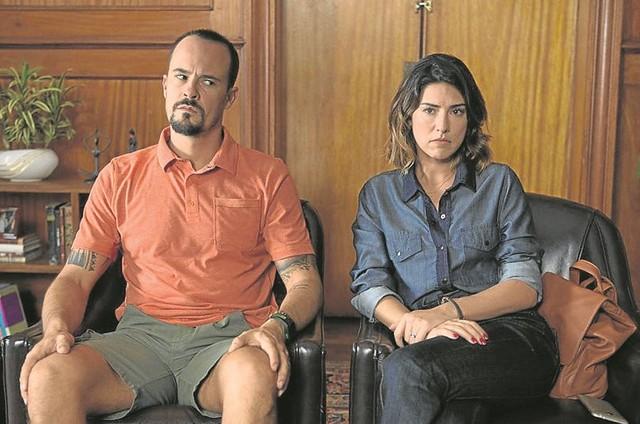 Paulo Vilhena e Fernanda Paes Leme (Foto: Aline Arruda)