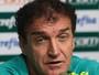 De saída, Cuca nega problema de relacionamento no Palmeiras