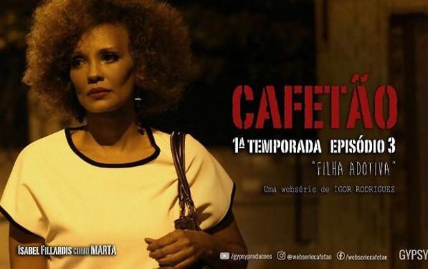 Atualmente, Isabel Fillardis está fazendo a websérie Cafetão (Foto: Reprodução/Instagram)