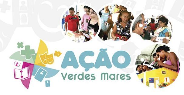 Participe das atividades do projeto Ação Verdes Mares. (Foto: Divulgação)