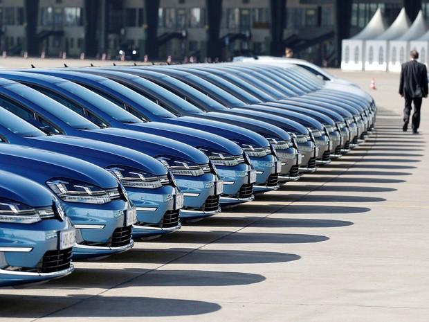 Volkswagen foi a montadora que mais vendeu no 1º semestre de 2016 (Foto: Tobias Schwarz/Reuters)