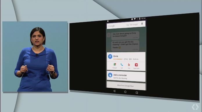 Now On Tap, nova ferramenta do Google Now (Foto: Reprodução/Google)