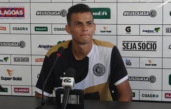 Com quatro gols, Jean Carlos assume artilharia do Campeonato Alagoano
