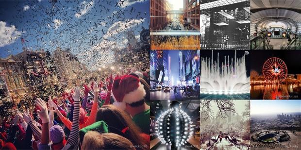 Instagram divulgou cidades com mais fotos e vídeos no app; São Paulo aparece em quinto lugar (Foto: Reprodução/Instagram)