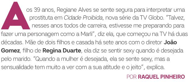 Regiane Alves abre (Foto:  )