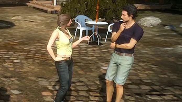 Casal bizarro aparece em Final Fantasy XV (Foto: Reprodução/Final Fantasy Wikia)
