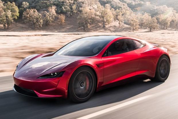 Tesla Roadster (Foto: Divulgação)