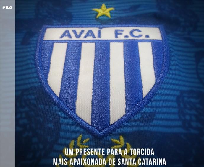 Avaí camisa (Foto: Divulgação)
