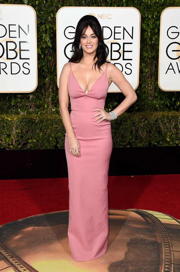 Katy Perry no Globo de Ouro (Foto: Getty Images)