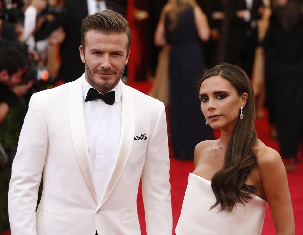 David e Victoria Beckham (Foto: Divulgação)