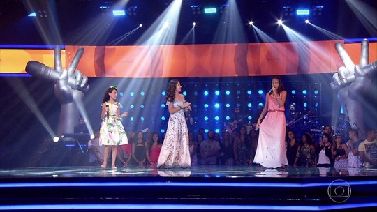 Cantora de Resende, RJ, volta a se apresentar no 'The Voice Kids'