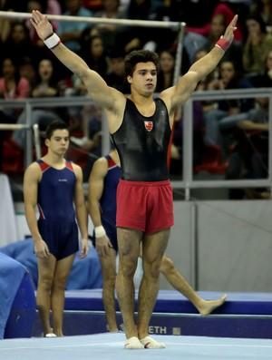 Pétrix Barbosa conquista medalha de ouro no Troféu Brasil de Ginástica em Toledo (Foto: Ricardo Bufolin / Photo&Grafia)