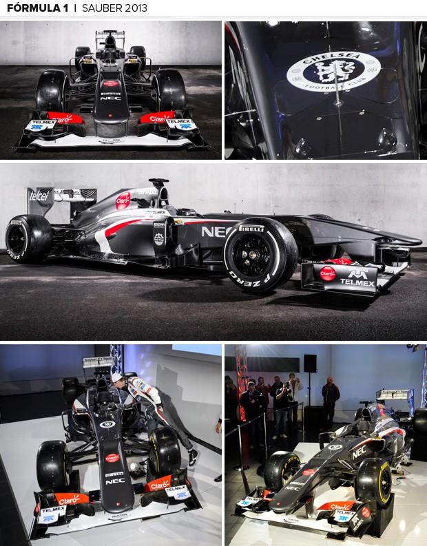 SAUBER 2013 formula 1mosaico 2 (Foto: Getty Images)