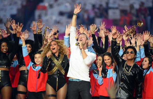 Beyonce e Colplay (Foto: Agência Reuters)