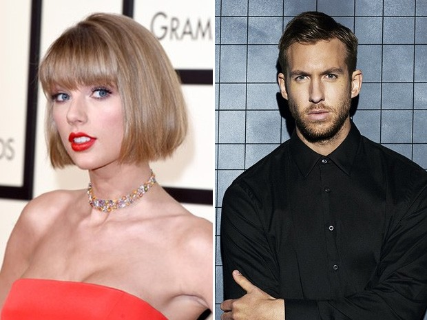 Taylor Swift X Calvin Harris (Foto: Getty Images/Arquivo)