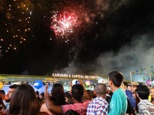 Pátio de Eventos Luiz Gonzaga (Foto: Paula Cavalcante/ G1)