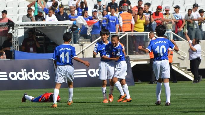 Japão Paraguai sub-20 Copa Danone Torneio Internacional de Nações (Foto: Vitor Geron)