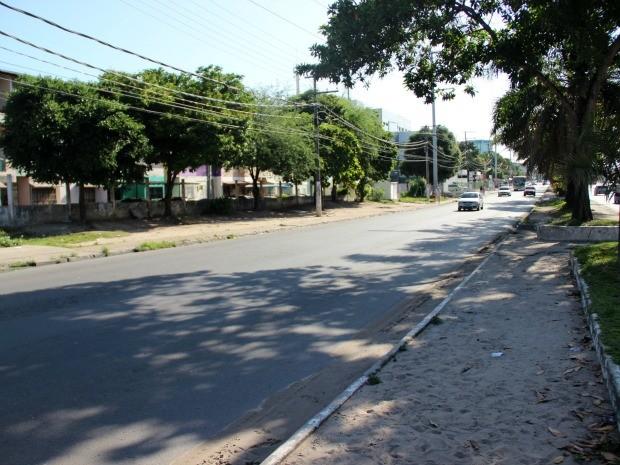 Crime ocorreu na Avenida Noel Nutels (Foto: Jamile Alves/G1 AM)