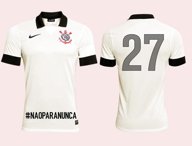 camisa corinthians nova (Foto: Divulgação)