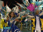 Escolas de samba se apresentam na última noite de carnaval em Goiânia