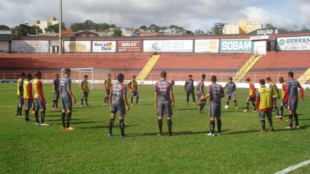 Paulista de Jundiaí, treinamento (Foto: Divulgação / Paulista FC)