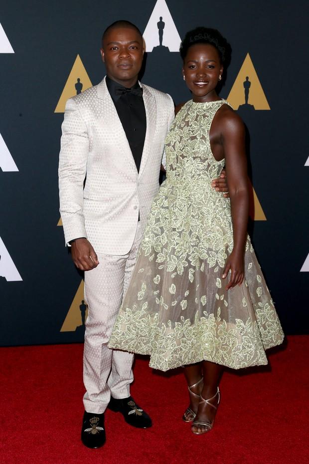 David Oyelowoe Lupita Nyong'o (Foto: Getty Image)