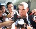 Apalavrado, Wagner agenda exames para poder assinar com o Corinthians