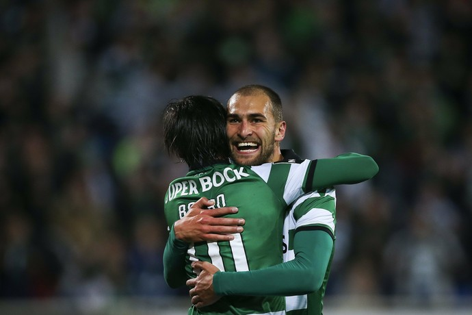 sporting x estoril (Foto: EFE/EPA/MARIO CRUZ)