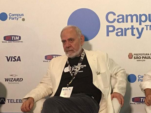 Francesco Farruggia, Francesco Farrugia, presidente da Campus Party, criticou ministério da Cultura por não conceder Lei Rouanet ao evento (Foto: Helton Simões Gomes/G1)