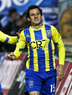 Danilo Dias União da Madeira x Sporting (Foto: EFE)