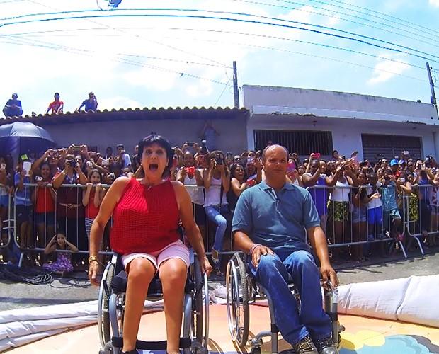 Sonia e Jeferson recebem nova sede (Foto: TV Globo)
