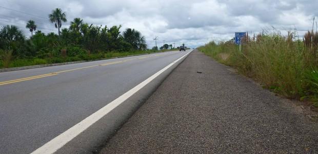 Rodovia federal em Roraima (Foto: Divulgação/CNT )