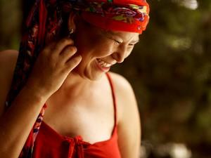 Confira os cliques do ensaio com mulheres que estão com câncer de mama (Foto: Nina Vilas Boas/ RPC)