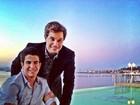 Enzo curte balada em Saint-Tropez com o pai, Edson Celulari