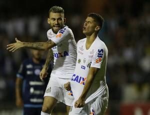 Lucas Lima Vitor Bueno São Bento x Santos