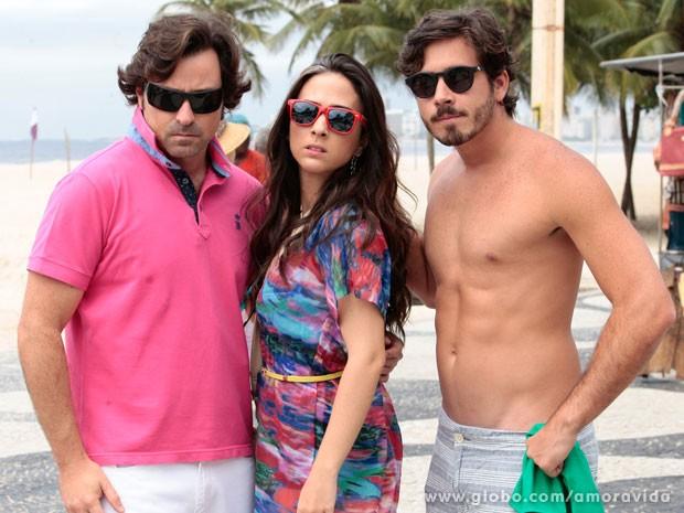 Será que Murilo, Valdirene e Jefferson ainda querem ficar famosos? (Foto: Pedro Curi/TV Globo)