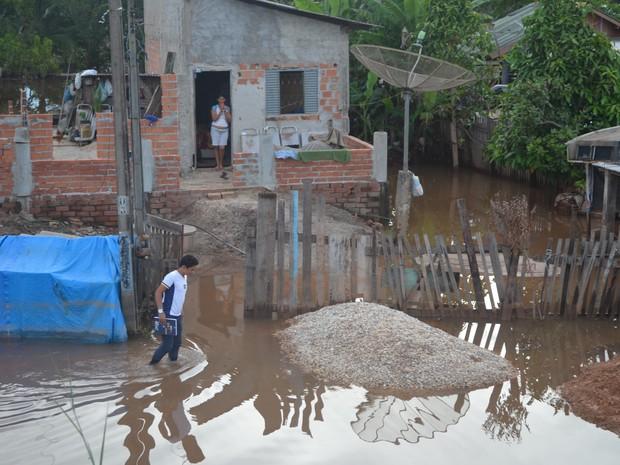 Cemaden enviou documento alertando a Prefeitura de Pimenta Bueno (Foto: Rogério Aderbal/G1)