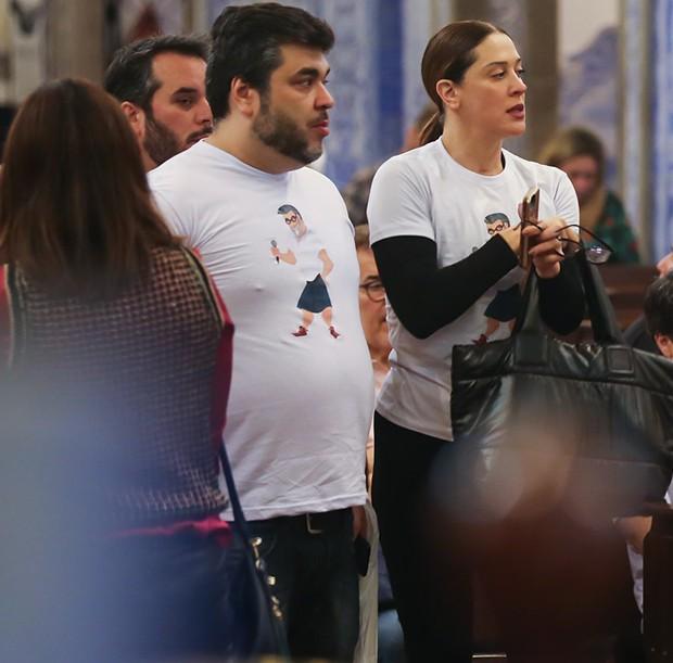 Claudia Raia e Fred Sposito (Foto: Manuela Scarpa/Brazil News)