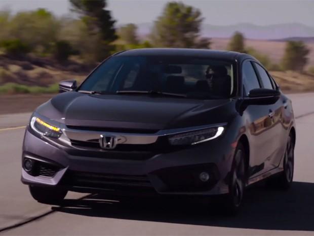 Honda Civic 2016 (Foto: Reprodução)