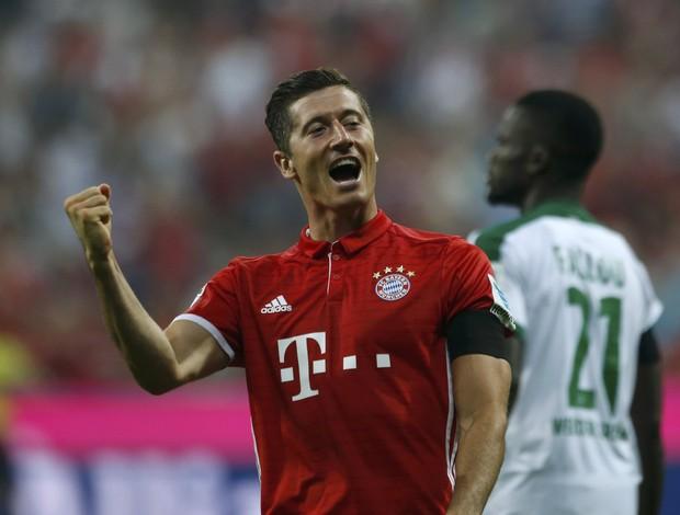 Lewandowski Bayern Werder Bremen