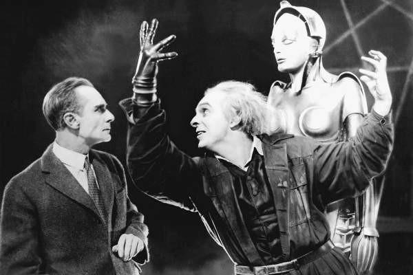 Uma cena do clássico 'Metrópolis' (1927) (Foto: Reprodução)