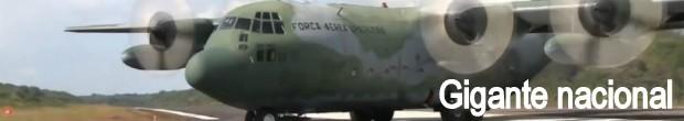 Maior avião militar fabricado no país entra em fase final de testes em SP (Foto: Rodrigo Sargaço/ EPTV)