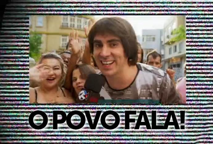 Adnet em 'O Povo Fala' (Foto: TV Globo)